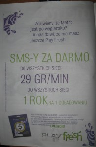 Metro Play Fresh